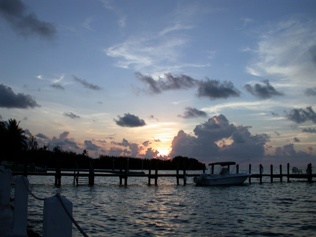 Sunrise in the Keys